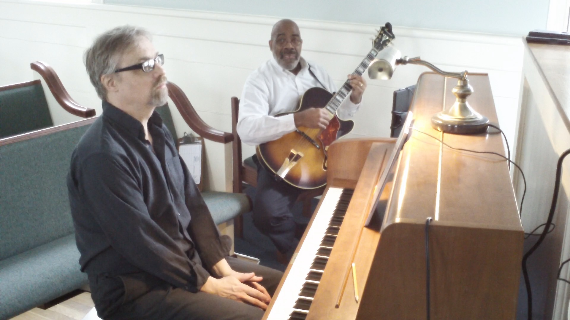 Laura (David Raksin): Darrell Blackwell, guitar; Gregory Hall, piano